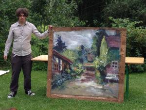 Landschaftsmalerei Gatow