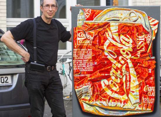 Der Kuenstler Andrei Krioukov im INterview mit der Kunstschule Berlin