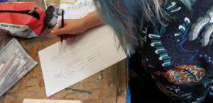 Workshop Holzarbeiten Semesterstart 2018 Rebecca Lomfeld