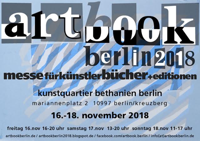 Ab dem 16 November ist die Kunstschule Berlin auf der artbook 2018 mit einem Stand vertreten.