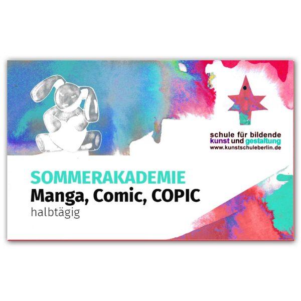 Sommerakademie 2019 Manga, Comic, COPIC kursgutschein