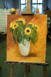 Sonnenblumen ohne Kürbisse